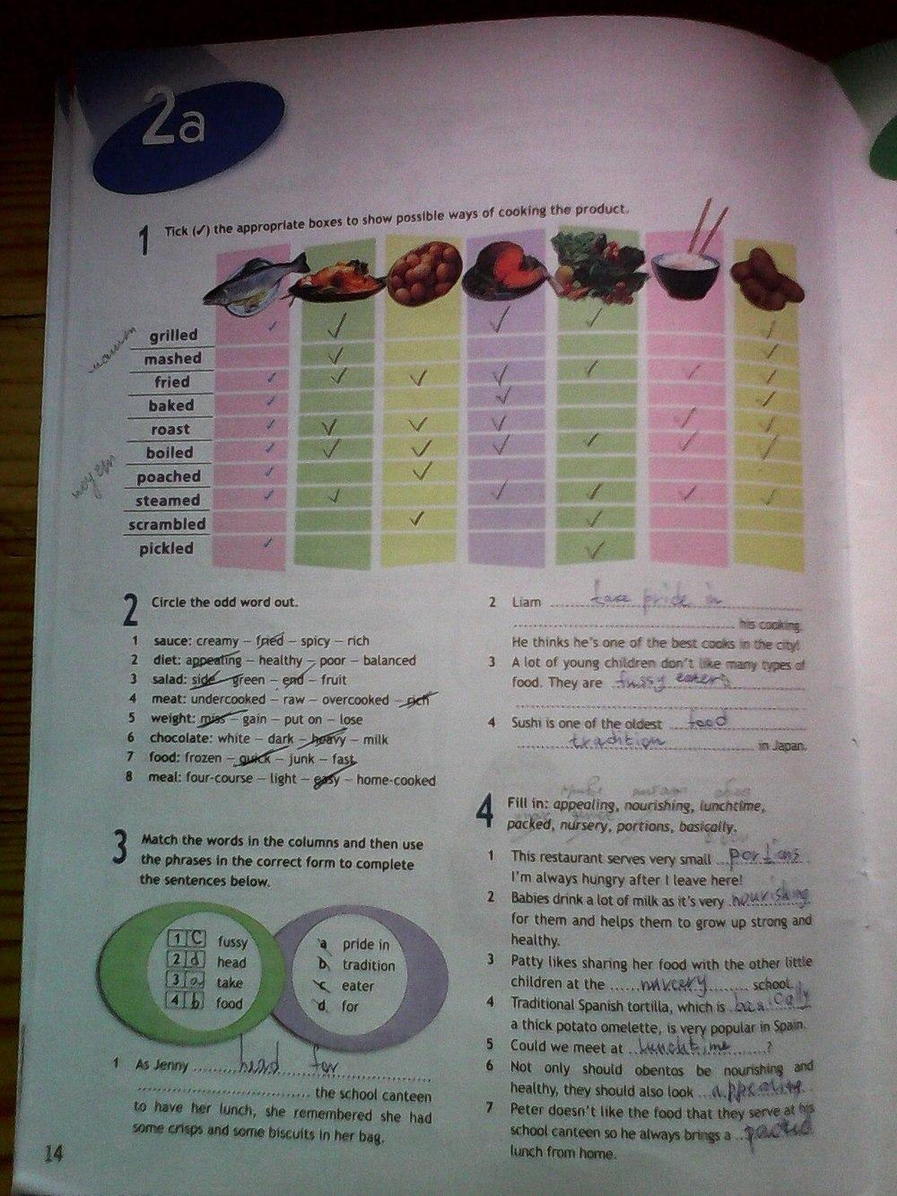 spotlight решебник класс язык 8 8 тетрадь английский