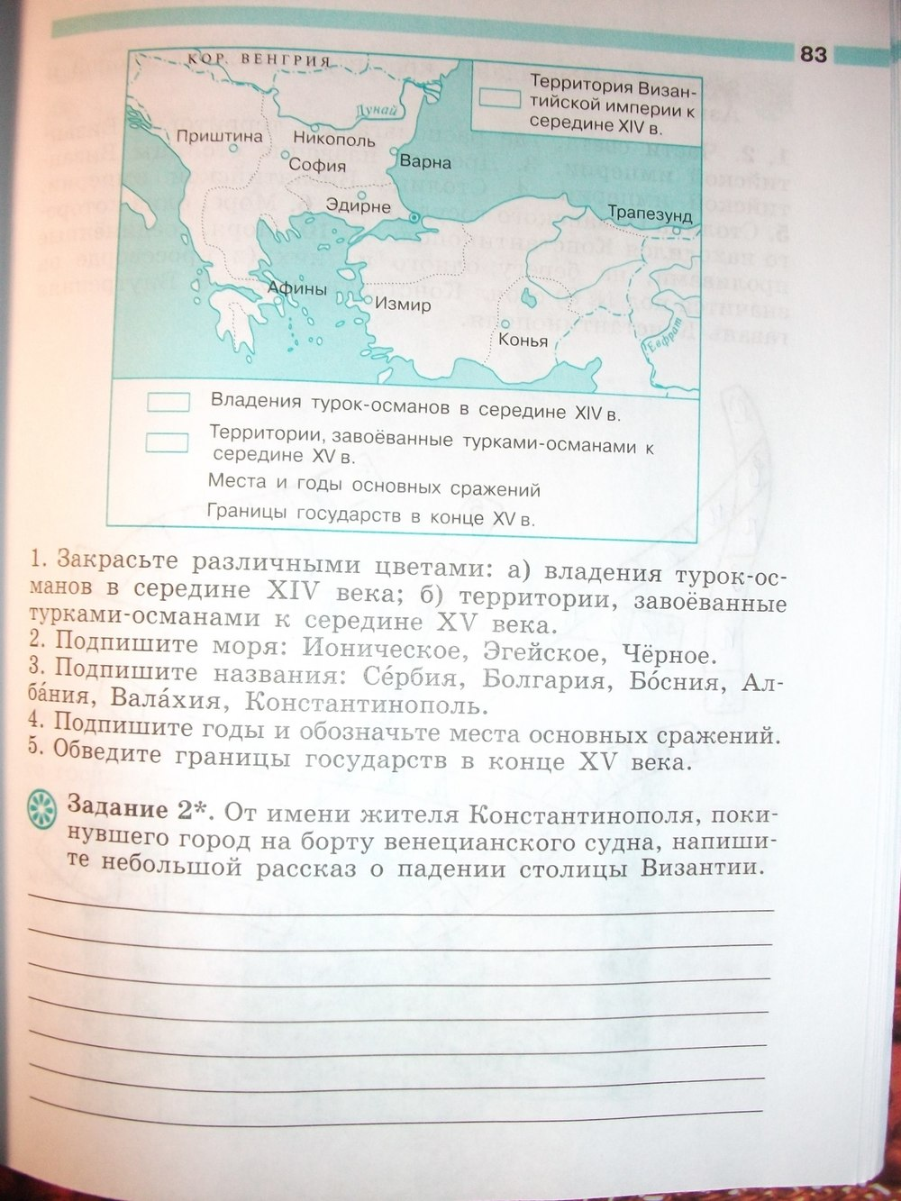 Гдз По Истории 6 Клаас Рабочая Тетрадь История России
