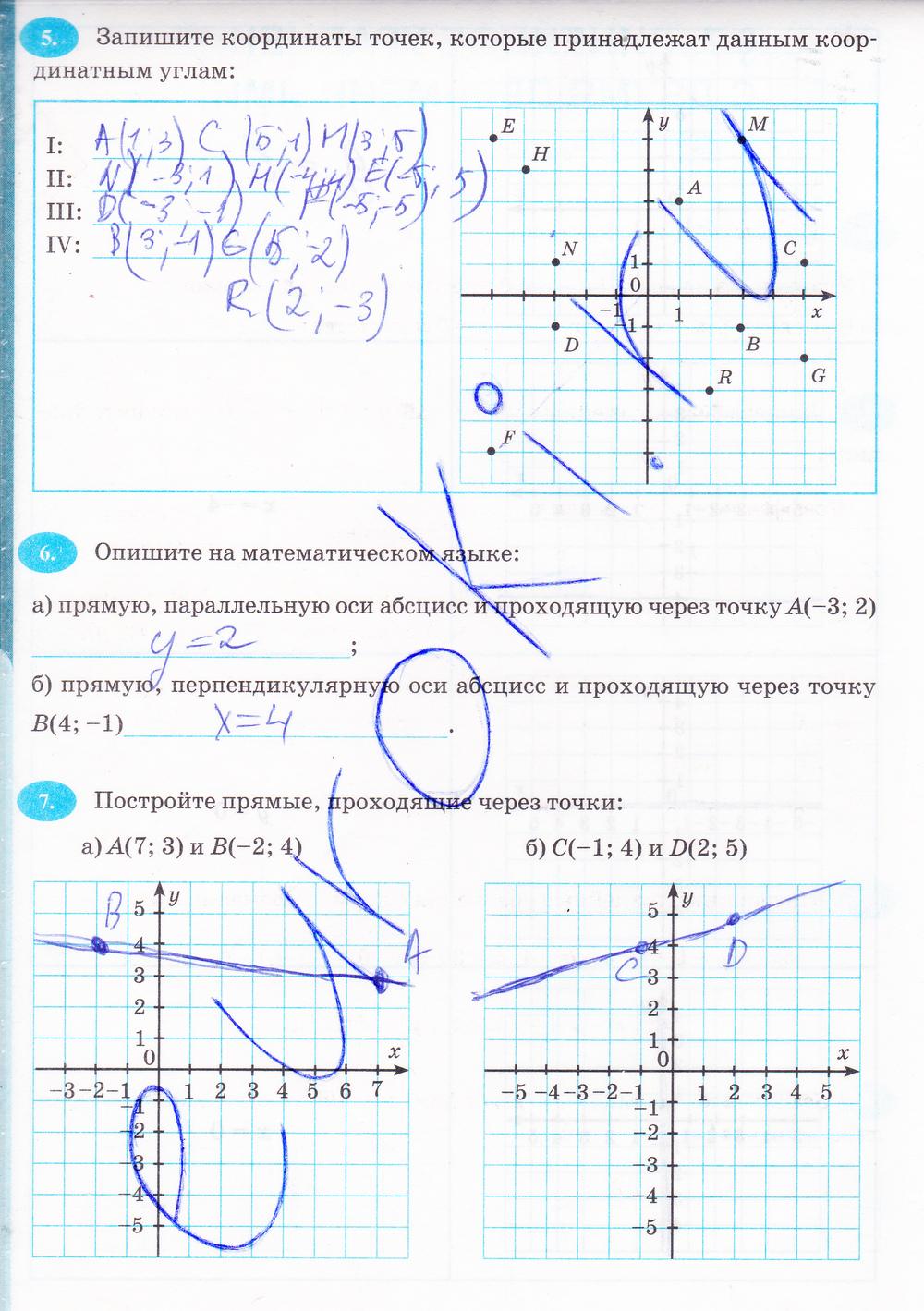 Гдз по алгебре 7 класс мордкович рабочая тетрадь ключникова