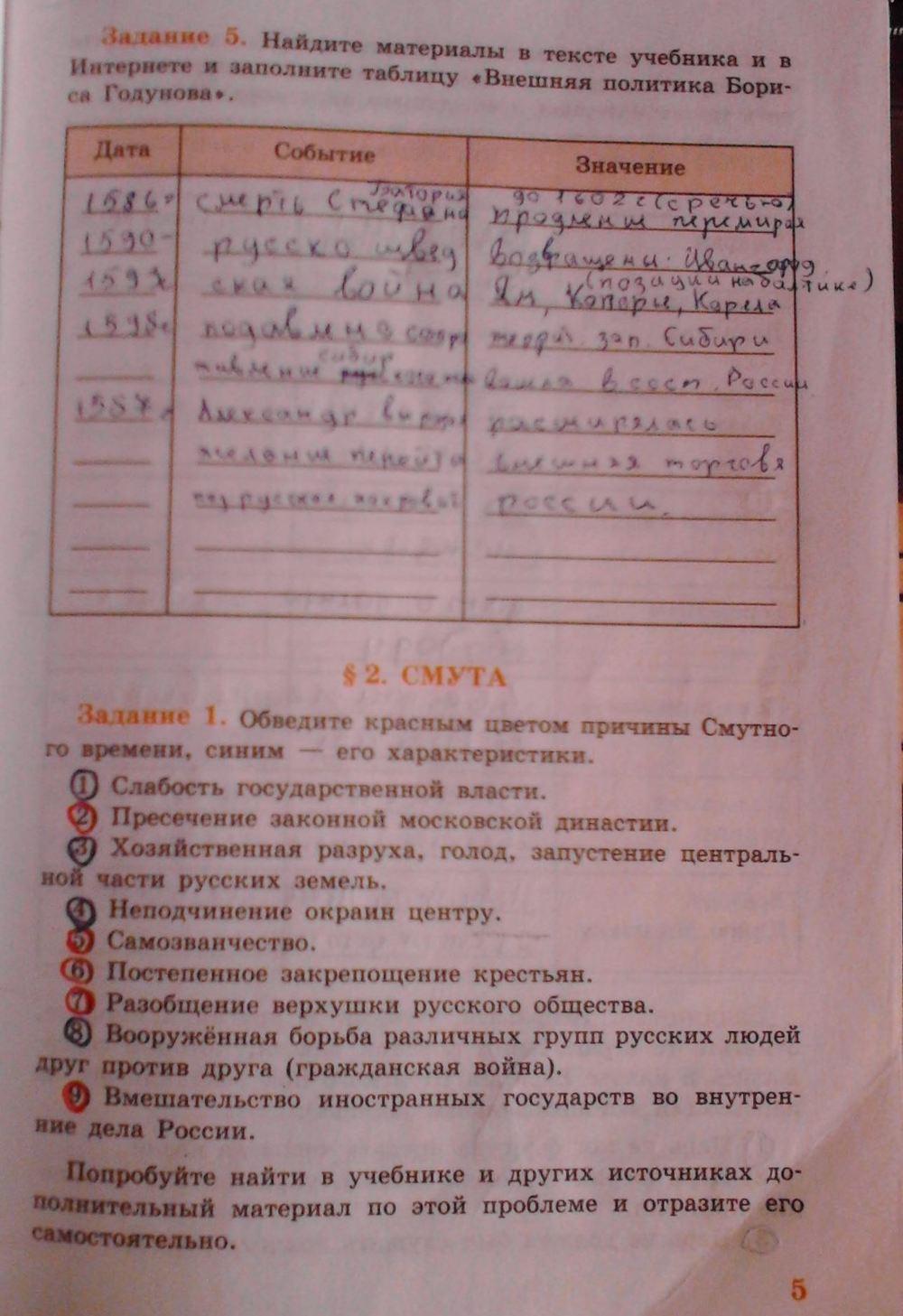 гдз история ответы россии вопросы класс учебника 9 на учебник данилов