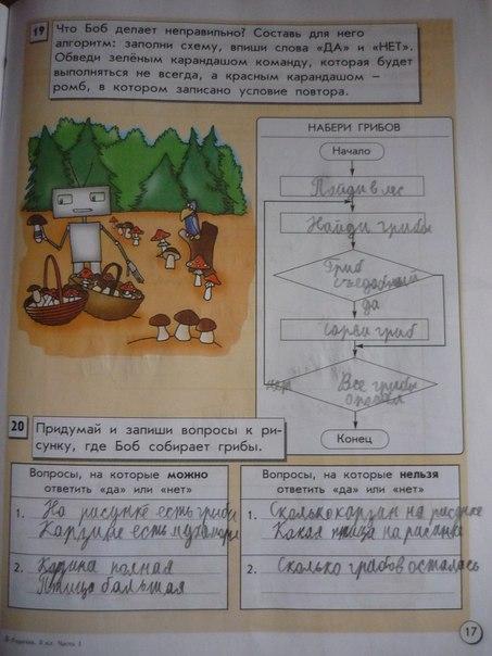 Готовые домашние задания по информатике 4 класс скачать