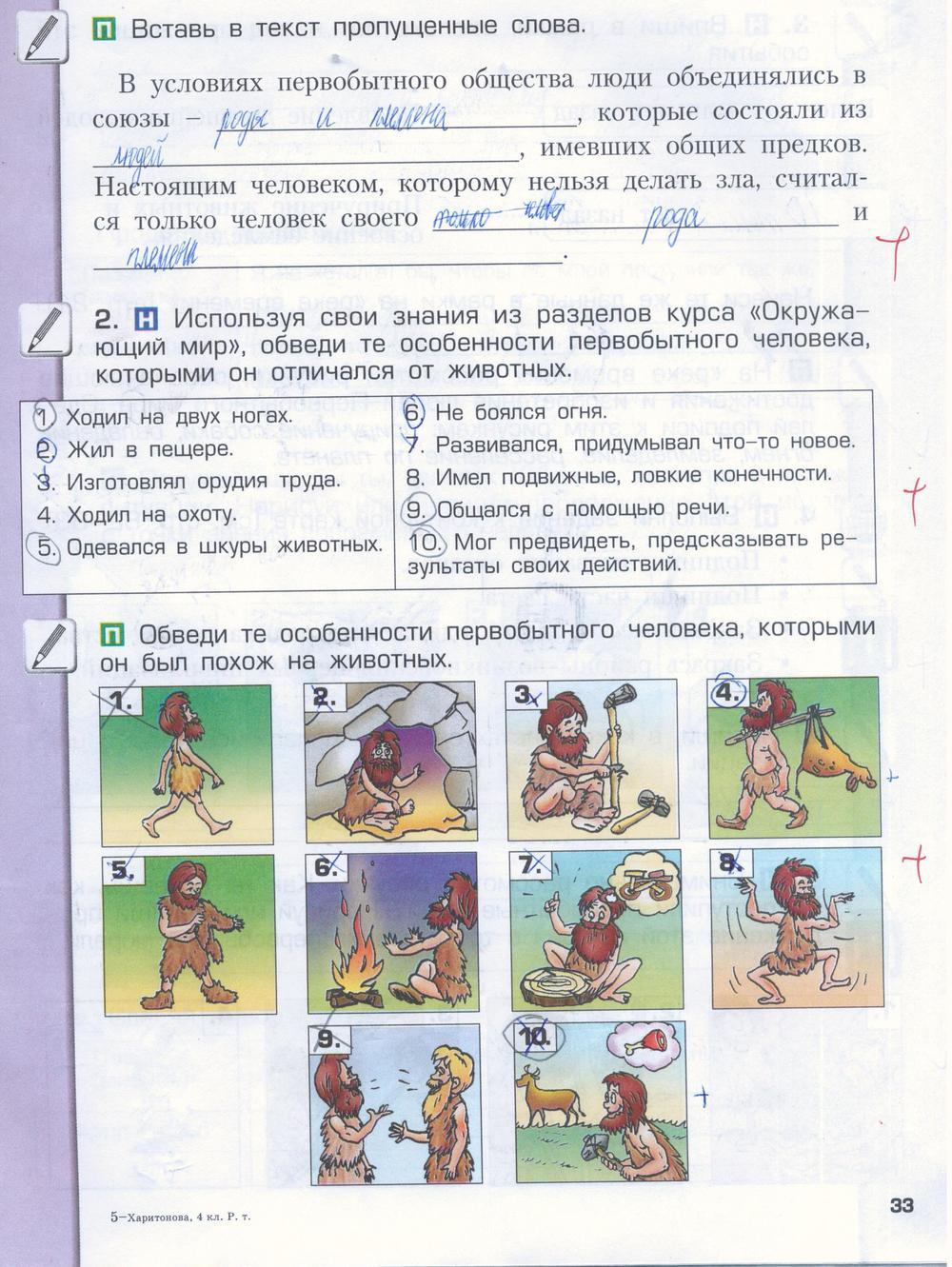 гдз по окружающему миру 2 класс вахрушев учебник и тетрадь
