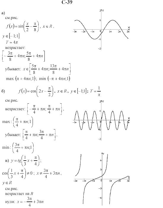 Работ практических класс 10 алгебре по решебник для