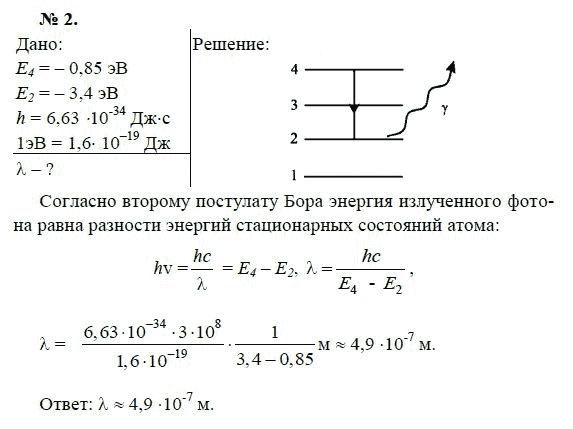 Решебник физика 11 класс мякишев