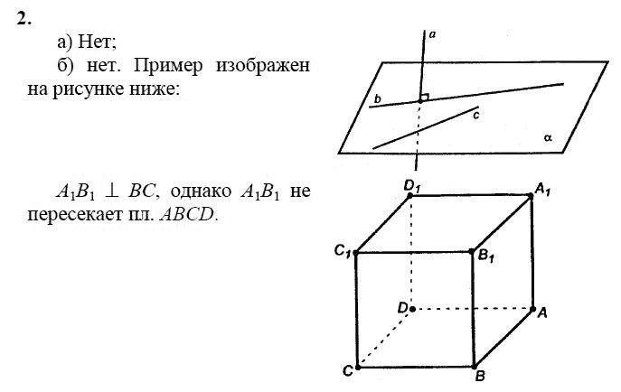 Гдз атанасян геометрия 10 класс вопросы к главе 2