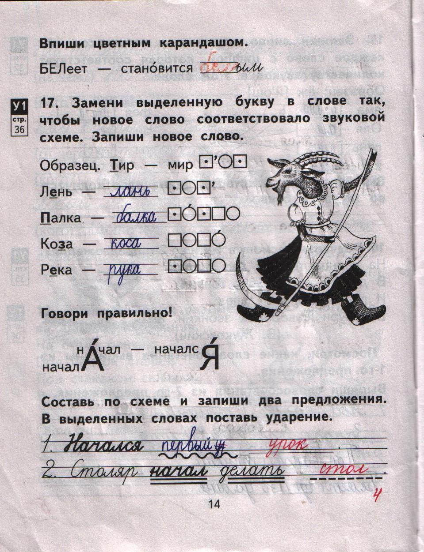 малаховская русский язык 2 класс тетрадь для самостоятельной работы гдз 2 часть