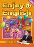 Английский язык 4 класс. Enjoy English, Биболетова М.З., Денисенко О.А., Трубанева Н.Н.
