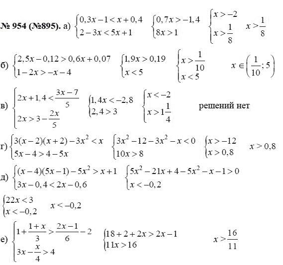 макаревич алгебра 8 класс гдз