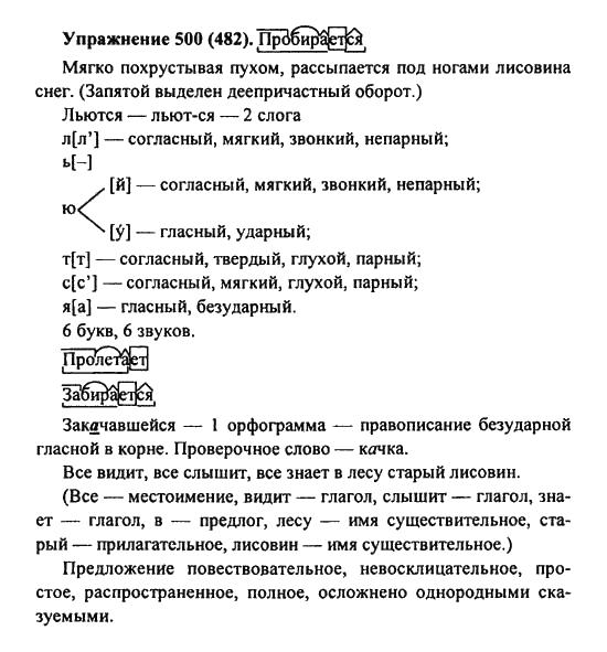 гдз по русскому 7 класс дрофа практика