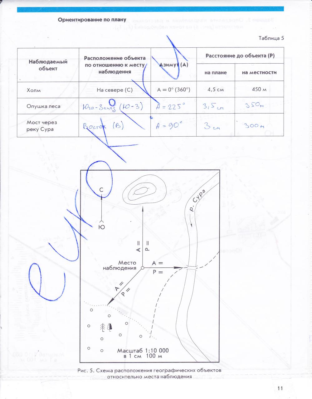 8 класс по географии тетрадь гдз рабочая за в.и.сиротина