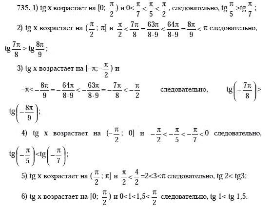 готовое домашнее задание по алгебре 10 класс алимов тех