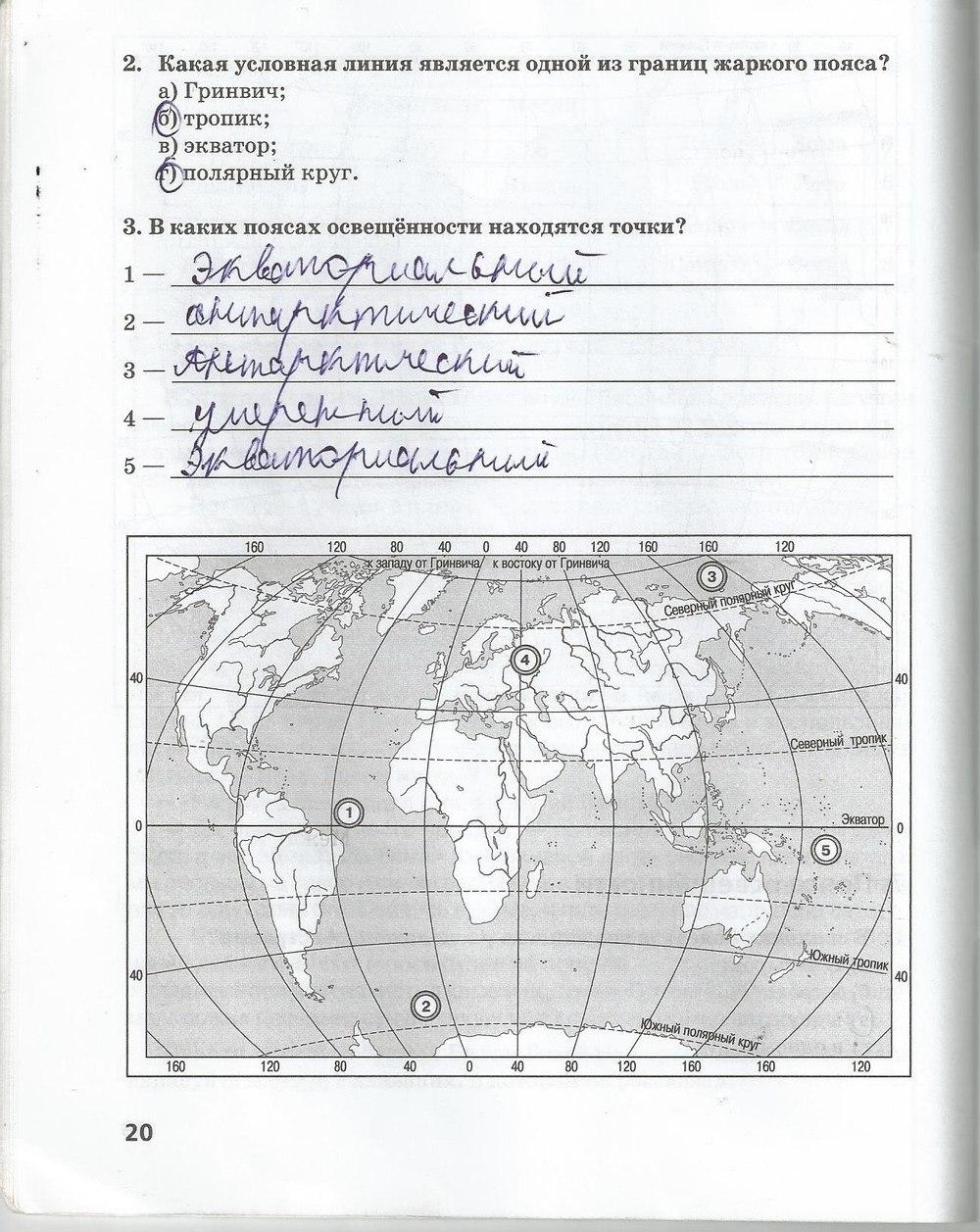 решебник к рабочей тетради по географии 6 класс климова