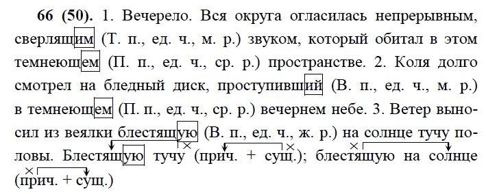 Гдз по русскому языку 7 класса баранов 2010