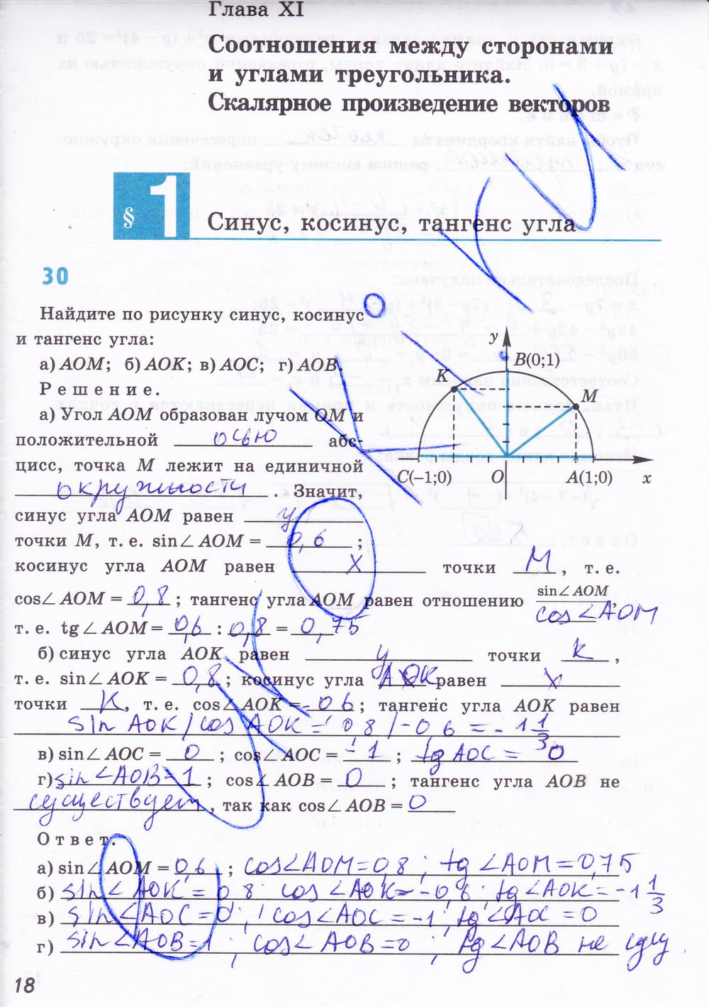 Гришин класс гдз 6 тесты