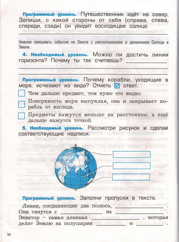 Решебник контрольные работы по окружающему миру 2 класс вахрушев ответы