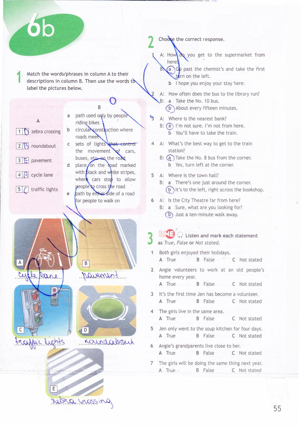 Spotlight 10 Workbooks Решебник