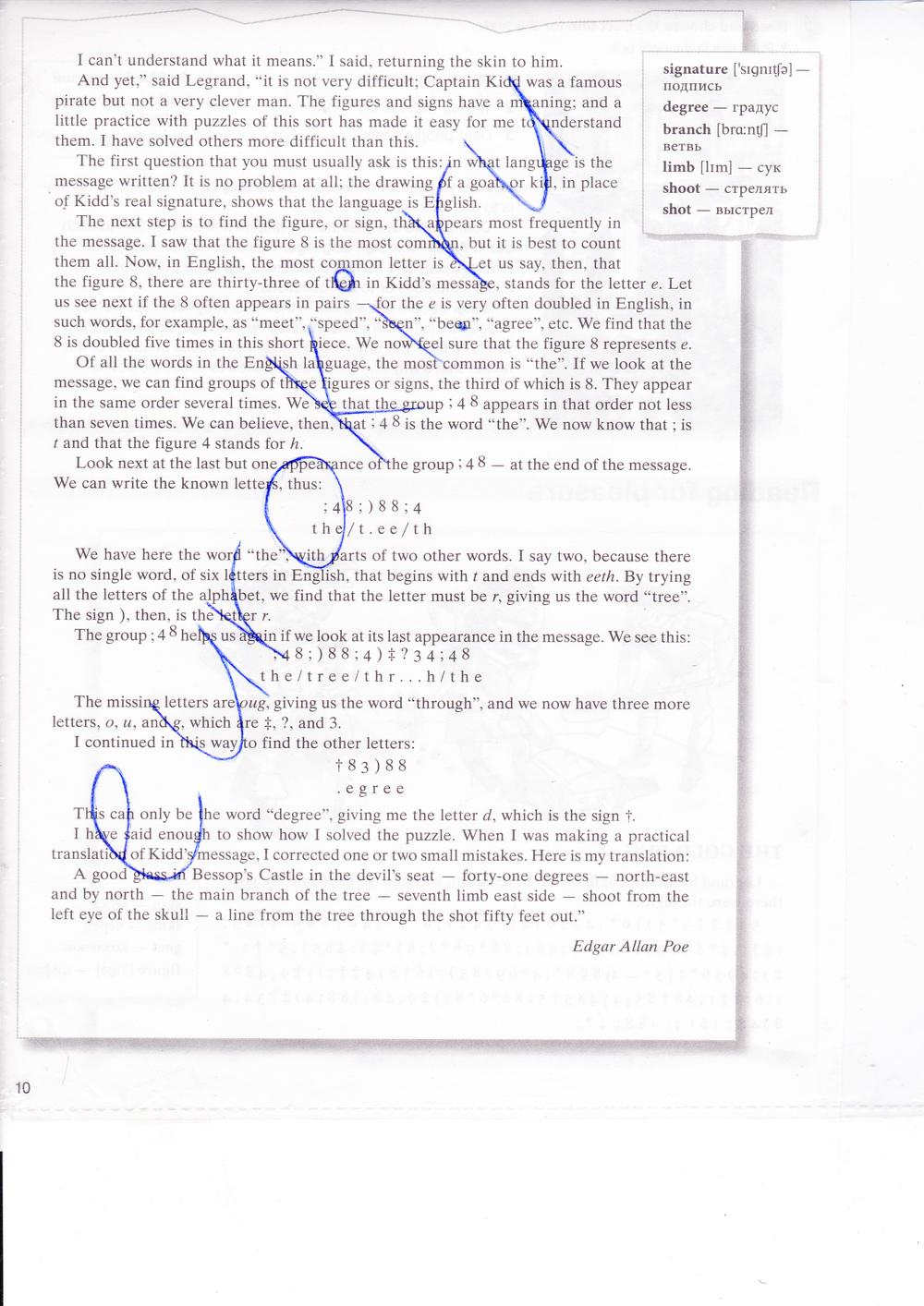 Millennium english языку new гдз к класс английскому 10