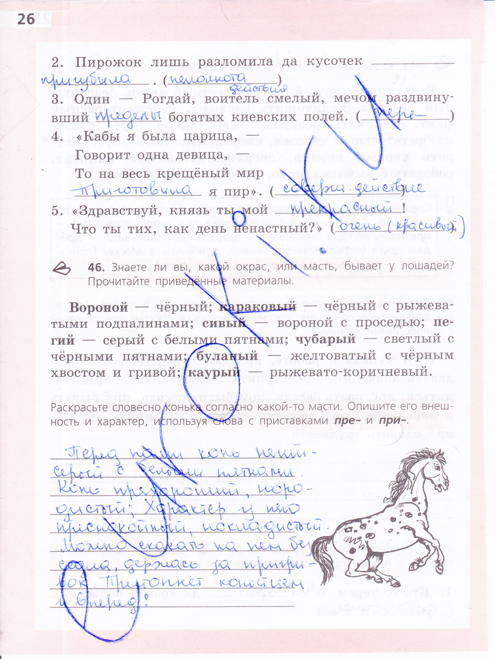 6 клаас по русскому ефремова гдз тетрадь языку рабочая