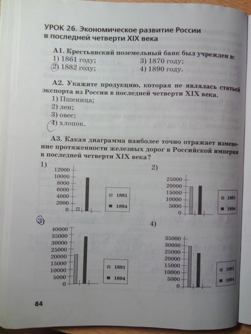 Гдз Рабочая Тетрадь К Учебнику Сахарова История России
