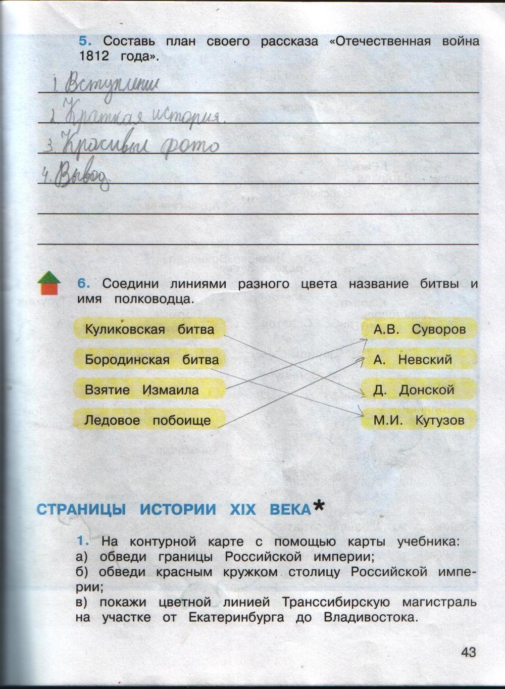 Гдз От Путина Гармония 4 Класс