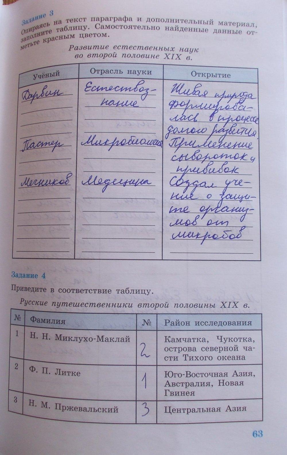 7 гдз класс истории тетрадь рабочая соколова россии по