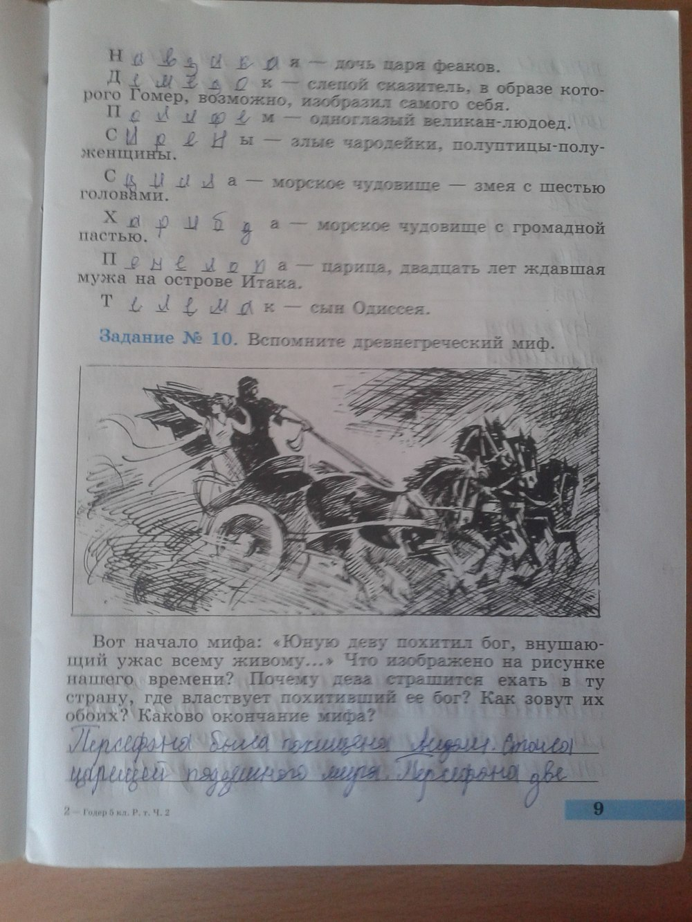 Гдз по рабочей тетради по истории 5 класс годер от путина